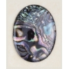 Shell 30/40mm oval Abalone